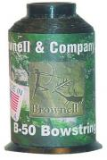 BROWNELL Sehnengarn Dacron 1/4 lbs, schwarz, B-50