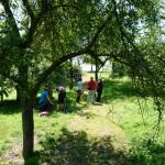 Feldboogenkurs und 3D - Bogenseminar Hornburg Teilnehmer 2014