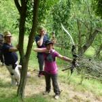 Feldbogenkurs und 3D Bogenseminar Hornburg Teilnehmer 2014
