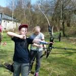 Feldbogenkurs und 3D -  Bogenseminar Hornburg Teilnehmer 2015